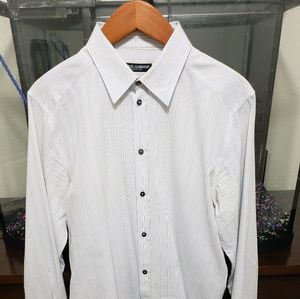 "DOLCE & GABBANA ""GOLD"" MENS DRESS SHIRT"